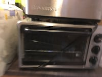 black and gray toaster oven Guelph, N1G 2Z6