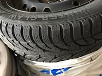 Winter tire & steel wheels   East Gwillimbury, L0G 1V0