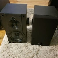 two black-and-gray speakers Overland Park, 66210
