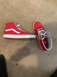 Red and white Vans  Decatur, 35601