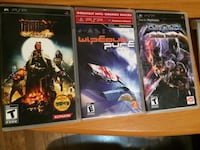 three assorted PS3 game cases
