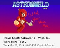 Travis Scott Ticket Fairfax, 22030