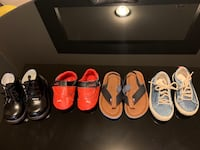 Four pairs of assorted-color shoes Temple Hills, 20748