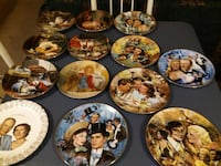 Hand Painted Collectors plates