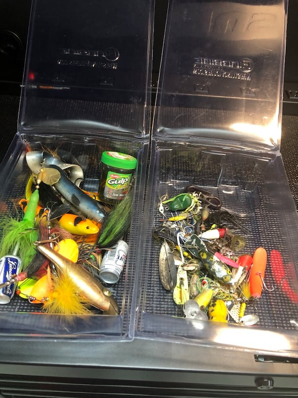 Assortment of Lures  1
