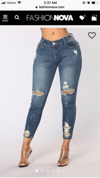 women's blue denim jeans Toronto, M2H