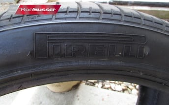 Set of 4 Pirelli P Zero Rosso 295/35 ZR21 Tires From Cayenne GTS Max Summer Perf.