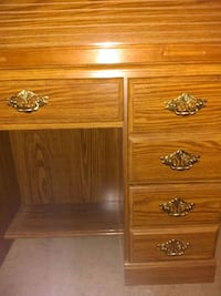 Antique Cherry military dresser 23 mi