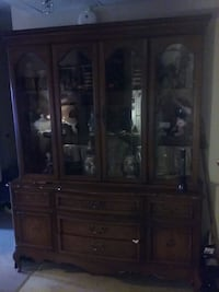 brown wooden china buffet hutch Providence, 02904