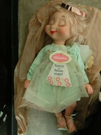 FANNY THE FALLEN ANGEL, WHIMSIE DOLL, clothes, win Woodstock, 22664
