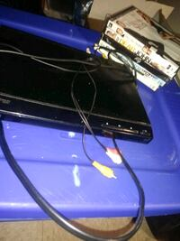 DVD player with five movies