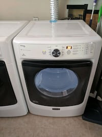 white front-load clothes washer Charlotte, 28205