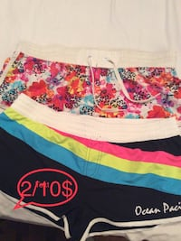 New shorts one medium and one large 5$each Laval, H7X 3M8