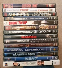 DVD Movie Lot 11 - Action Calgary, T2Z 4W6