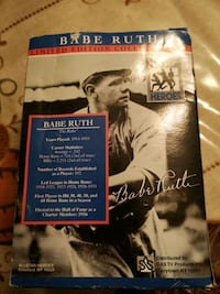 Babe Ruth Limited Edition collector Set Pickering, L1W 2P5