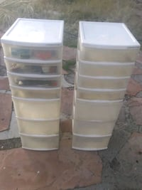 Storage bins , totes, drawers
