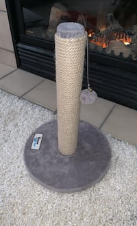 Whisker and Mittens cat scratching post. Purchased at PetSmart. Rockville