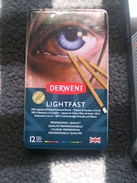 12 pack derwent coloured pencils  Bath, 18014