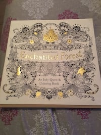 Enchanted Forest Adult Coloring Book Turlock, 95382