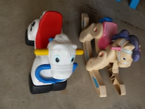 Rocking  OR  Riding Horse  $4 each