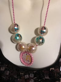 silver and pink beaded necklace Jurupa Valley, 92509