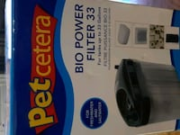 Aquarium Bio Filter for tanks up to 33 gallons. Kitchener, N2E 4A9