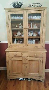 Irish Pine Antique Hutch Franklin Lakes, 07417