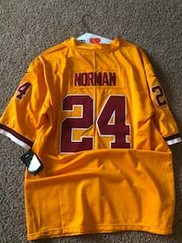 Never worn Josh Norman Color rush jersey size L Frederick, 21702