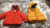 Baby jacket and vest size 12 to 18 months 25.  For both