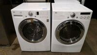 white front-load washer and dryer set Charlotte, 28213