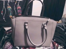 Light gray Michael Kors Purse