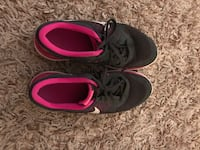 Size 10 pink and grey Nike sneakers  Ridley Park, 19078