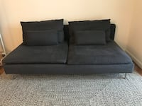 IKEA Soderhamn 2 seat sofa section dark gray. Originally $449.00 Bethesda, 20814