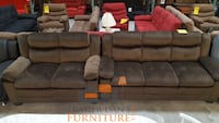 Brand new brown microfiber sofa and love seat  Silver Spring, 20902