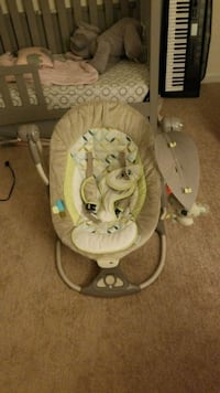 Baby swing also comes with bouncer attachment  Virginia Beach, 23454