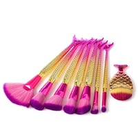 Brand new mermaid brush set + free gift  Toronto, M2N 4S1
