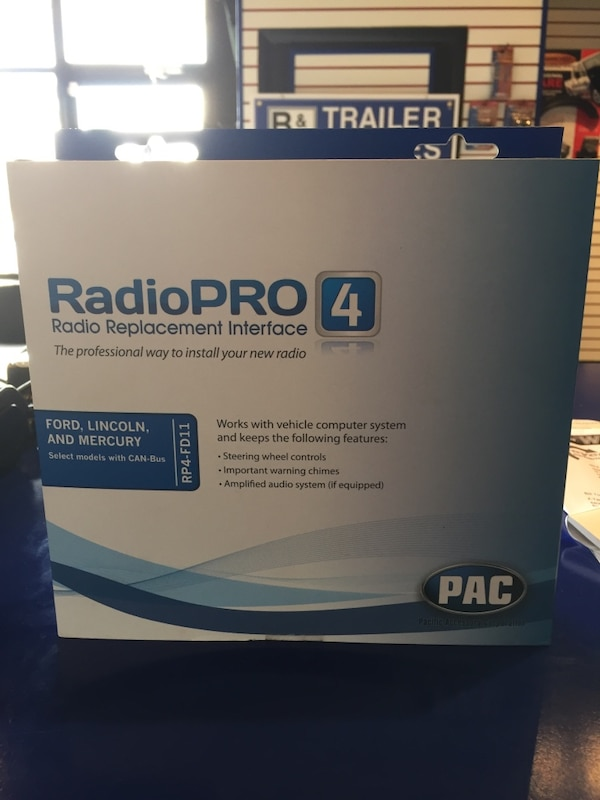 radio pro 4 radio replacement interface