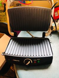 black and white electric grill Colmar Manor, 20722