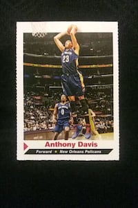 2013 SI ANTHONY DAVIS NBA ROOKIE BASKETBALL CARD EXCELLENT CONDITION