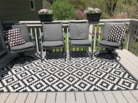 Outdoor rug + patio chairs  Frederick, 21704