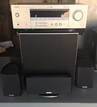 Speaker with Subwoofer(Polk) and Receiver(Yahmaha) Las Vegas, 89129