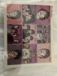 Collectable postage stamps