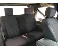 Black jeep wrangler back seat Dallas, 75238