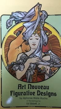 Alphonse Mucha designs Vancouver, V5T 4T1