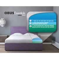 """ObusForme GEL Series 10"""" Bed in a Box Mattress"""