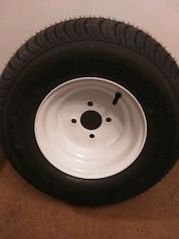 Trailer wheel and tire Load star for pop up campers