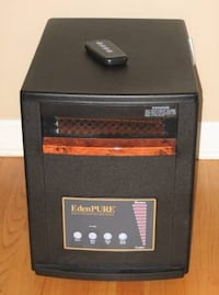 EdenPURE Quartz Infrared Portable Space Heater with Remote Arlington