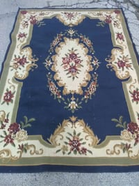 blue and white floral area rug Skokie, 60076