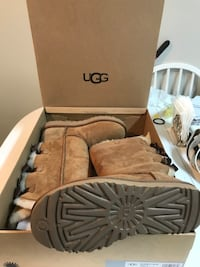 Brand new UGG brown tall boots size 7 Paid $310 plus taxes.  Surrey, V3V