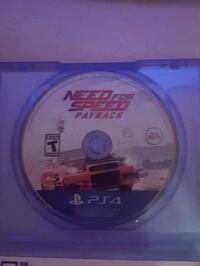 PS4 Need For Speed Payback 20$ Loon Lake, B2W 3R8